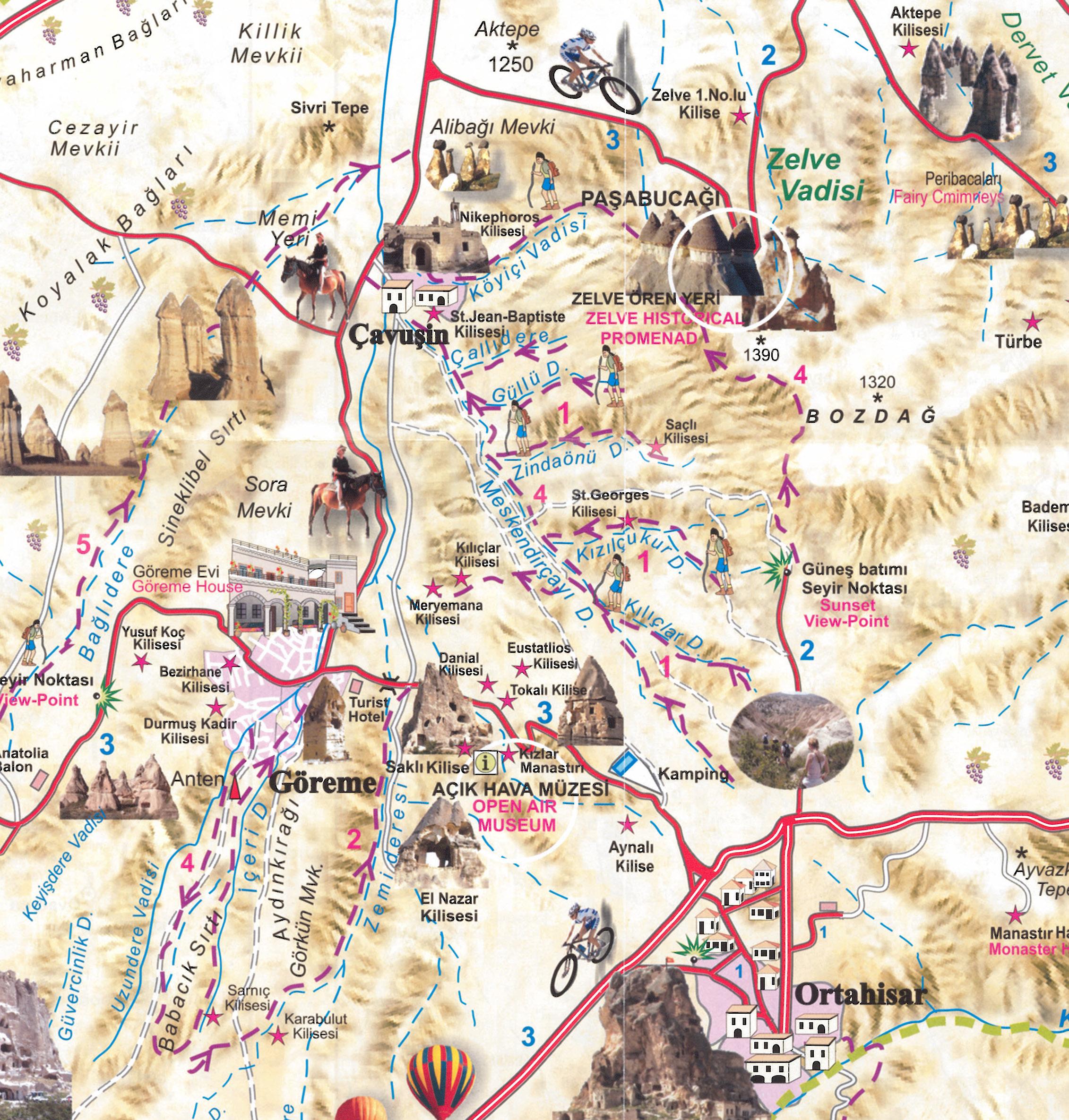 Cappadocia  Camminare nella storia blog