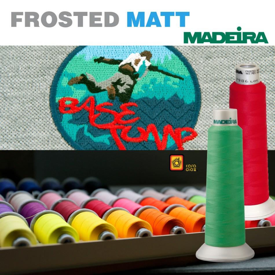 Hilo Frosted Matt Madeira