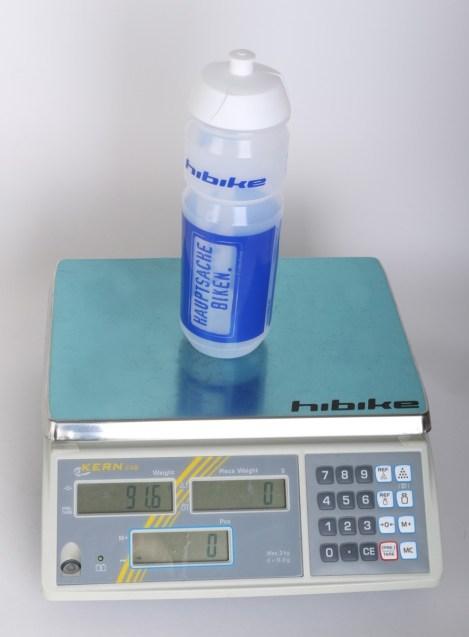 HIBIKE Trinkflasche Gewicht 91,6 g
