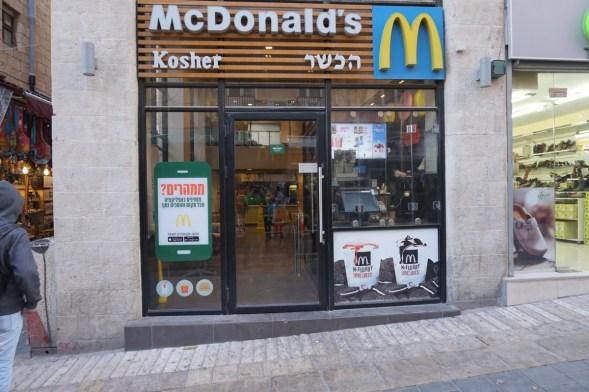 McDonalds ohne Schwein, keine Cheesburger und viele weitere Extras