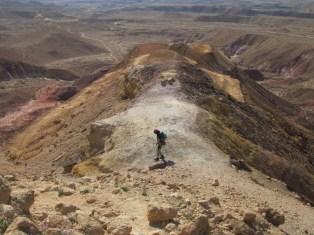 Farbenfroh im Kraterinneren