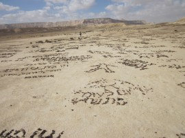 Wüstenmalerei