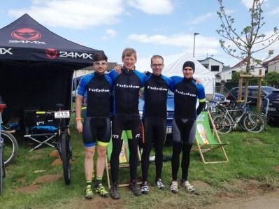HIBIKE Racing Team beim Bike around the clock Rennen