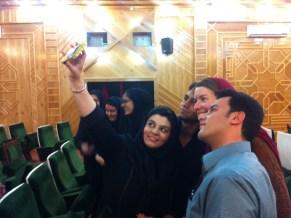 Slefie vom Selfie nach Univortarg