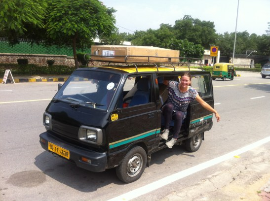Die Räder bleiben in den Boxen in Indien