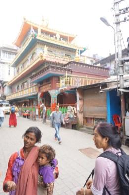 Buddhistischer Temple bei Dharamsala
