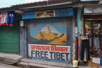 Wir sind in Dharamsala unserem Ziel Lhasa so nahe wie nie