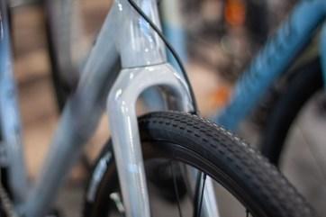 Reifen eines Cyclocrossers