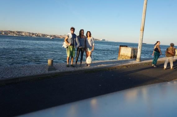 Lisbon und Strand mit Besuch