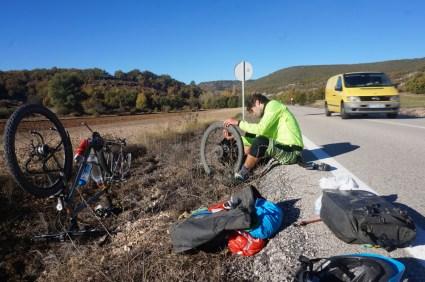 Offroad oder die Reifen werden nach 14000 km doch alt