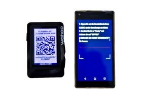 Wahoo Elemnt Pairing - einfach den QR-Code über die App scannen