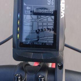 Navigation - LEDs laufen nach links