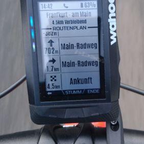 Navigation - Ansicht Routenplan