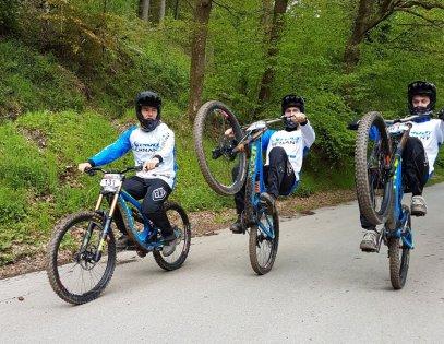 Nick, Floris und Tom in Belgien beim LOTTO DH1