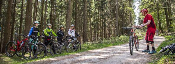 Biketechniktraining - Erklärung der korrekten Bremstechnik