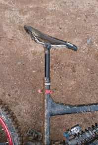 pro Vario Stütze am Bike