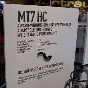 Magura MT7 mit neuem HC3 Hebel (mehr Verstellmöglichkeiten)