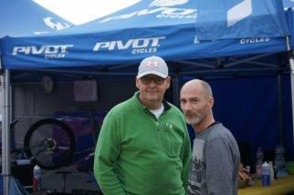 Teamchef Ingo und Florians Dad