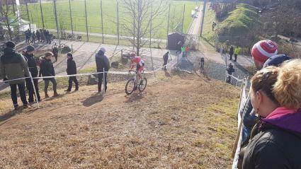 Steile Rampe Cross DM Bensheim 2018
