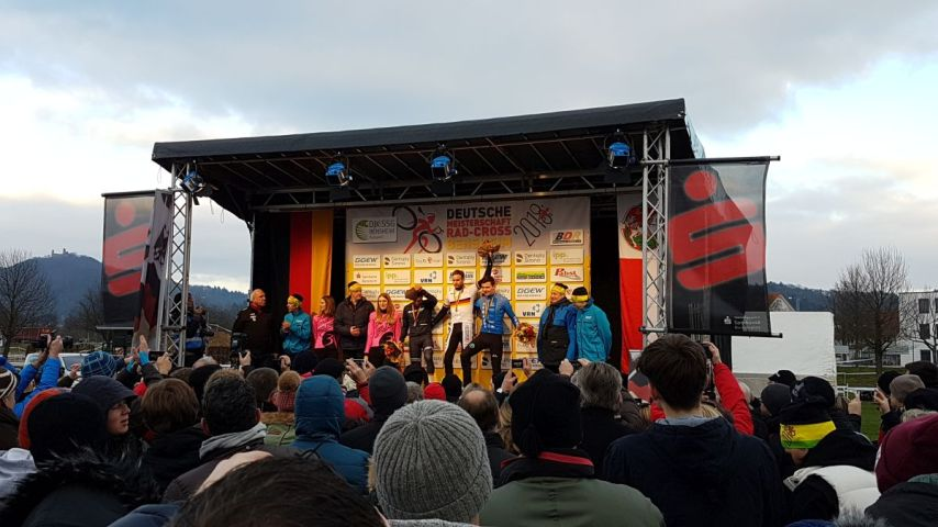 Siegerehrung Elite Men Bensheim 2018