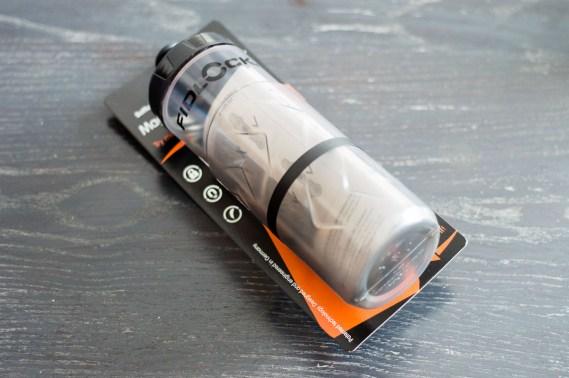 Das Fidlock Bottle Twist System kommt in einem kompakten Paket und kann noch in der Verpackung ausprobiert werden.