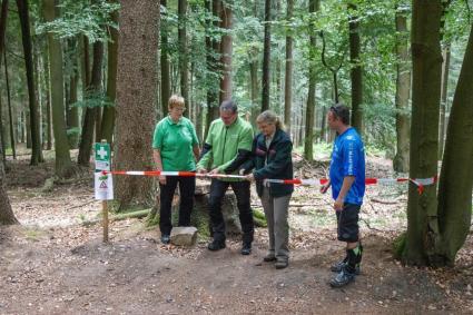 Eröffnung 2. Abschnitt Flowtrail Feldberg