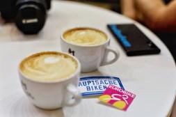 Kaffeepause auf der Eurobike