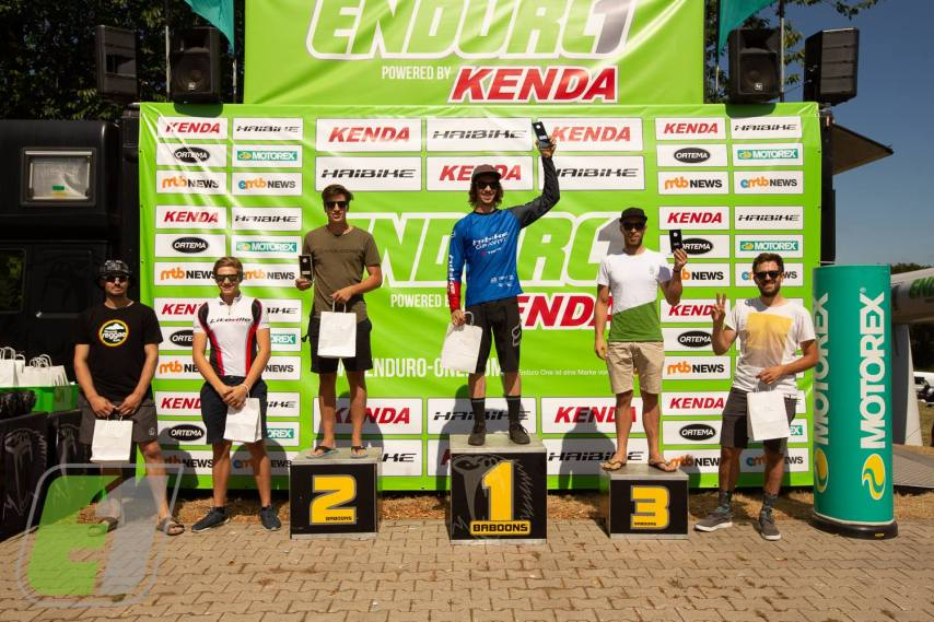 Marcel Frey HIBIKE Gravity Team - 1. Platz in Wupperfürth in der Gastklasse Enduro One
