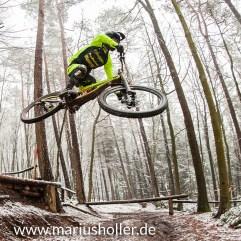 2015 Florian Werres beim Training