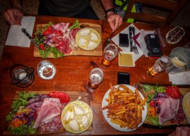 Wohlverdient: Abendliches Festmahl