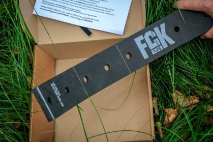 Die FCK Flats Reifeneinlage ist individuell anpassbar.