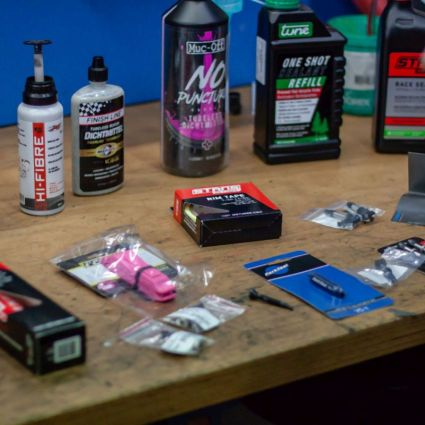 Materialien für die Tubeless Umrüstung