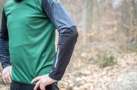 DynaRope verstärkte Unterarmpartie.
