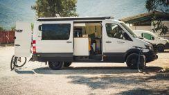 Garage und Schlafzimmer in einem - Erics selbstgebauter Camper-Van