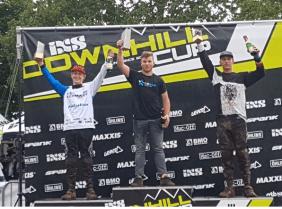 3. Platz beim IXS Downhill Rennen in Tabarz 2017