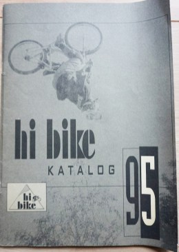 Der erste HIBIKE Katalog aus dem Jahre 1995