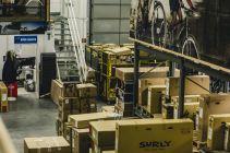 Der Versandbereich: Von hier aus gehen die Pakete auf die Reise zu dir nach Hause.