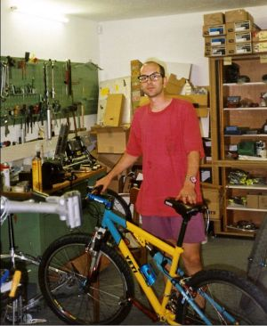 Yeti ARC LT: das erste von uns verkaufte Komplettbike 1995