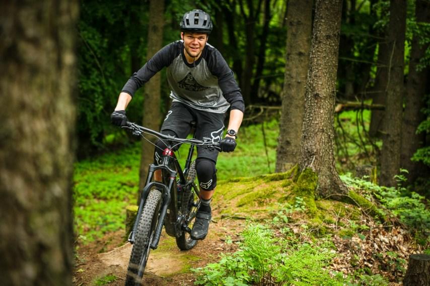 """Das typische """"Trek Finish"""" bringt den Rahmen selbst in der dunkelsten Ecke zum schimmern. Mich hat das Bike optisch sehr überzeugt!"""