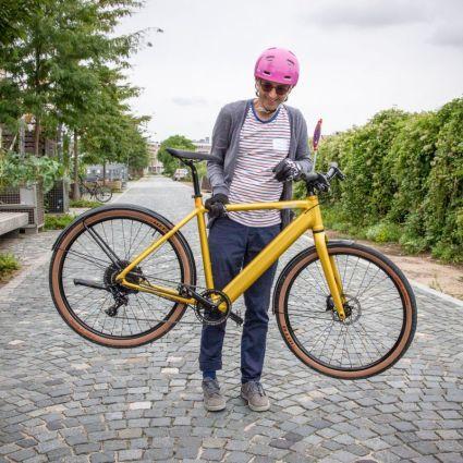 Mit 16kg für ein E-Bike wirklich leicht
