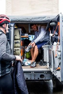 ... auch auf dem Rennrad bot er ausreichend Performance, wie hier beim 24h-Rennen beim Rad am Ring.