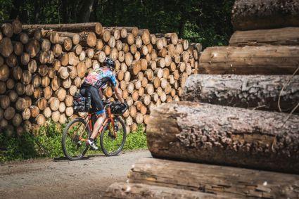 Die Bikes wurden ganz schön vollgepackt beim Tanus Bikepacking! In 2020 dann wohl noch mehr ..