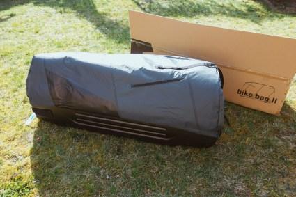B&W Bike Bag II verpackt