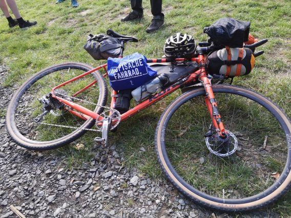 Auch logistisch ist das Taunus Bikepacking eine große Herausforderung
