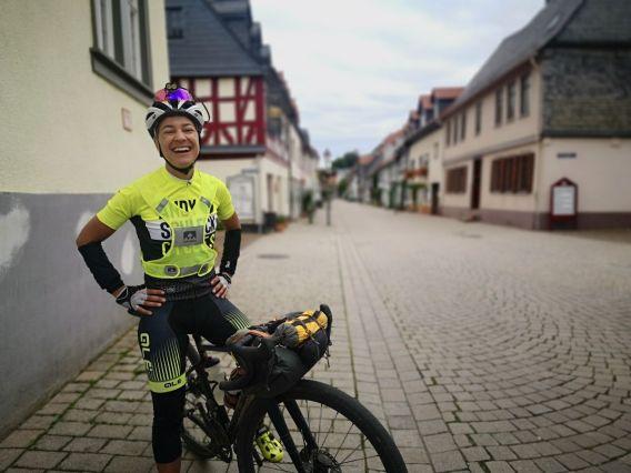 Ina de Visser war die schnellste Dame des Rennens