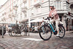 Das Bergamont E-Horizon Trekkingbike ist mit einem leistungsstarken Bosch Performance Line CX Motor ausgestattet