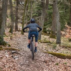 Zimtstern Fahrradbekleidung - Schau auch von hinten gut aus