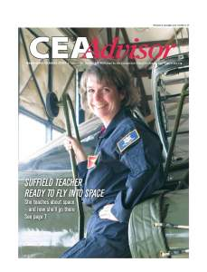 Sept-Oct 2009 CEA Advisor