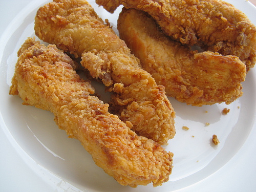 chicken is possibly crispy strips this recipe great if you