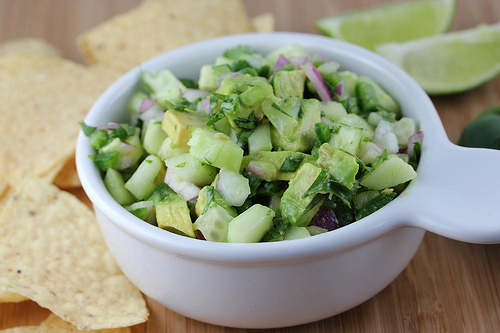 AvocadoCucumber Salsa Recipe Cooking and Recipes